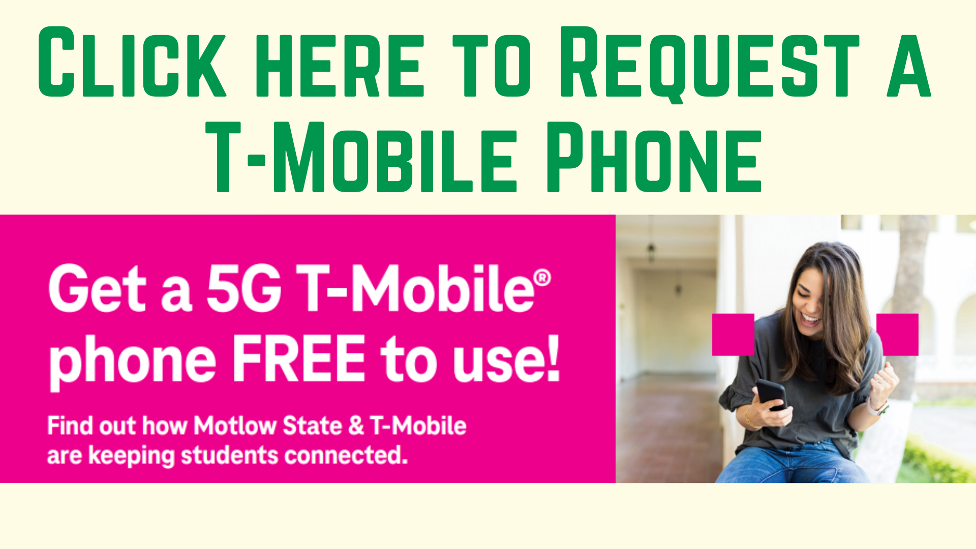 Click Here to Request a T Mobile Phone